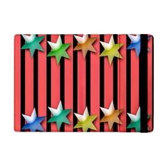 Star Christmas Greeting Apple Ipad Mini Flip Case by Nexatart