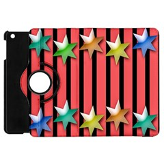 Star Christmas Greeting Apple iPad Mini Flip 360 Case by Nexatart