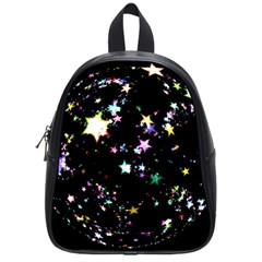 Star Ball About Pile Christmas School Bags (small)  by Nexatart