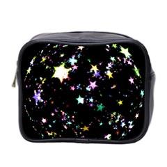 Star Ball About Pile Christmas Mini Toiletries Bag 2 Side by Nexatart
