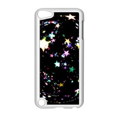 Star Ball About Pile Christmas Apple Ipod Touch 5 Case (white)