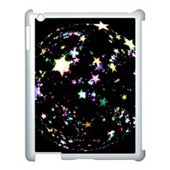Star Ball About Pile Christmas Apple Ipad 3/4 Case (white)