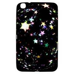 Star Ball About Pile Christmas Samsung Galaxy Tab 3 (8 ) T3100 Hardshell Case  by Nexatart