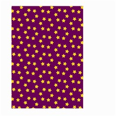 Star Christmas Red Yellow Large Garden Flag (two Sides)