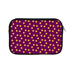 Star Christmas Red Yellow Apple Ipad Mini Zipper Cases by Nexatart