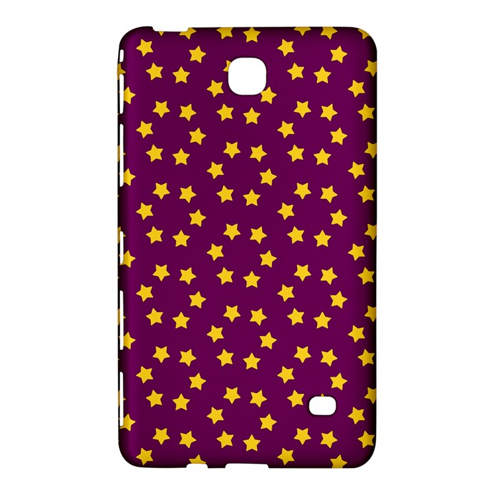 Star Christmas Red Yellow Samsung Galaxy Tab 4 (7 ) Hardshell Case
