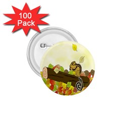 Squirrel 1.75  Buttons (100 pack)  by Nexatart