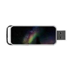Starry Sky Galaxy Star Milky Way Portable Usb Flash (two Sides)