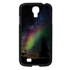 Starry Sky Galaxy Star Milky Way Samsung Galaxy S4 I9500/ I9505 Case (black) by Nexatart