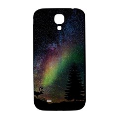 Starry Sky Galaxy Star Milky Way Samsung Galaxy S4 I9500/i9505  Hardshell Back Case by Nexatart
