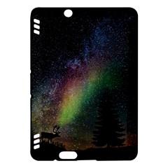 Starry Sky Galaxy Star Milky Way Kindle Fire Hdx Hardshell Case by Nexatart