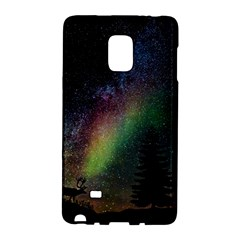 Starry Sky Galaxy Star Milky Way Galaxy Note Edge by Nexatart