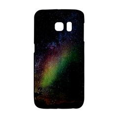 Starry Sky Galaxy Star Milky Way Galaxy S6 Edge by Nexatart