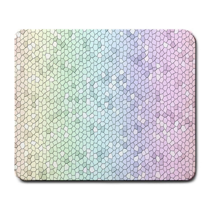 The Background Wallpaper Mosaic Large Mousepads