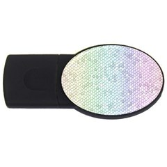 The Background Wallpaper Mosaic USB Flash Drive Oval (2 GB) by Nexatart