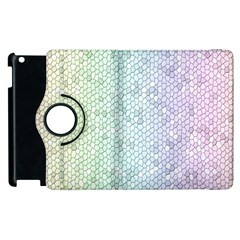 The Background Wallpaper Mosaic Apple Ipad 3/4 Flip 360 Case