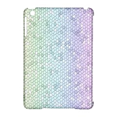 The Background Wallpaper Mosaic Apple Ipad Mini Hardshell Case (compatible With Smart Cover) by Nexatart