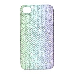 The Background Wallpaper Mosaic Apple Iphone 4/4s Hardshell Case With Stand