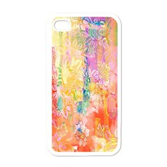 Watercolour Watercolor Paint Ink  Apple Iphone 4 Case (white) by Nexatart