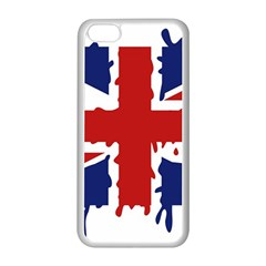 Uk Splat Flag Apple Iphone 5c Seamless Case (white)
