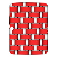 Weave And Knit Pattern Seamless Background Wallpaper Samsung Galaxy Tab 3 (10 1 ) P5200 Hardshell Case