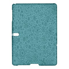 White Noise Snow Blue Samsung Galaxy Tab S (10.5 ) Hardshell Case  by Jojostore