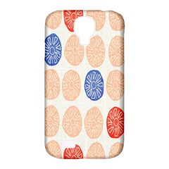 Wheel Circle Red Blue Samsung Galaxy S4 Classic Hardshell Case (pc+silicone) by Jojostore