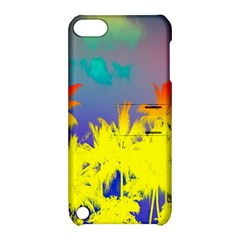 Tropical Cool Coconut Tree Apple Ipod Touch 5 Hardshell Case With Stand by Jojostore