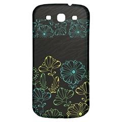 Elegant Floral Flower Rose Sunflower Samsung Galaxy S3 S Iii Classic Hardshell Back Case by Jojostore