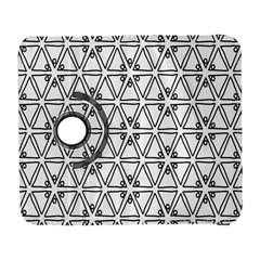 Flower Black Triangle Galaxy S3 (flip/folio) by Jojostore