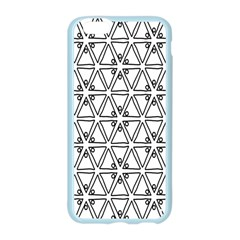 Flower Black Triangle Apple Seamless iPhone 6/6S Case (Color)