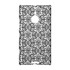 Flower Rose Black Triangle Nokia Lumia 1520 by Jojostore