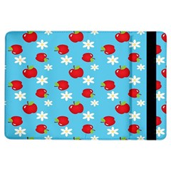 Fruit Red Apple Flower Floral Blue Ipad Air Flip by Jojostore