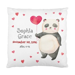 Love Panda Baby Cushion Case (single Sided)  by makeunique