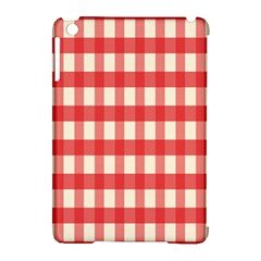 Gingham Red Plaid Apple Ipad Mini Hardshell Case (compatible With Smart Cover) by Jojostore