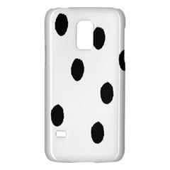Gold Polka Dots Dalmatian Galaxy S5 Mini by Jojostore