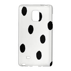 Gold Polka Dots Dalmatian Galaxy Note Edge by Jojostore