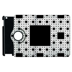 Hole Plaid Apple Ipad 2 Flip 360 Case by Jojostore