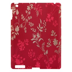 Leaf Flower Red Apple Ipad 3/4 Hardshell Case by Jojostore