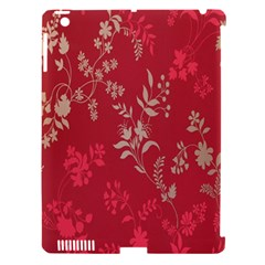 Leaf Flower Red Apple Ipad 3/4 Hardshell Case (compatible With Smart Cover) by Jojostore