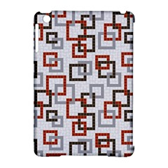 Links Rust Plaid Grey Red Apple Ipad Mini Hardshell Case (compatible With Smart Cover) by Jojostore