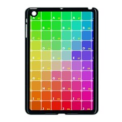Number Alphabet Plaid Apple Ipad Mini Case (black) by Jojostore