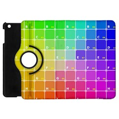 Number Alphabet Plaid Apple Ipad Mini Flip 360 Case by Jojostore