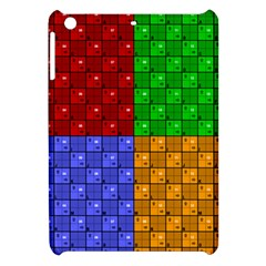 Number Plaid Colour Alphabet Red Green Purple Orange Apple Ipad Mini Hardshell Case by Jojostore
