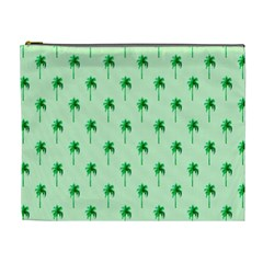 Palm Tree Coconoute Green Sea Cosmetic Bag (XL)