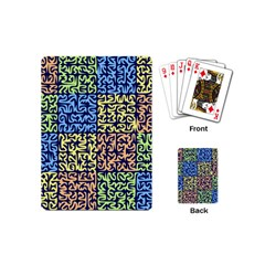 Puzzle Color Playing Cards (mini)  by Jojostore