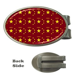 Chinese New Year Pattern Money Clips (Oval)