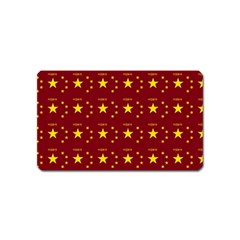 Chinese New Year Pattern Magnet (Name Card)