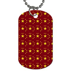 Chinese New Year Pattern Dog Tag (One Side)