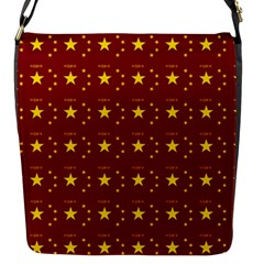 Chinese New Year Pattern Flap Messenger Bag (S)